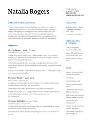 How To Write A Nanny Resume Wow Any Family With Template