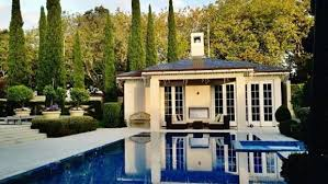 The Pool House Often Featured On Max Keys Instagram And YouTube Channels