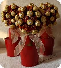Ferrero Rocher Christmas Tree Stand by Curious Of Craft Ferrero Rocher Topiary Tree Craft Pinterest