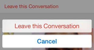 iOS 8 Messages How to Ignore or Leave a Group Message