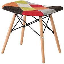 nicemoods patchwork stuhl stoff retro multicolor stuhl sofa