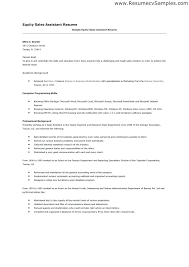 Sale Assistant Resume Sales Cover Letter Example Shop Examples