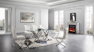 luxus esstisch set light loft design lionsstar gmbh