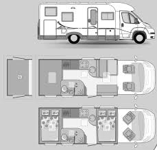 Nice Rv Blueprints 8 2011 Monaco Cayman Luxury Motorhome Floorplans