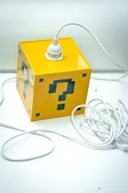 Zelda Triforce Lamp Amazon by Amazon Com Super Mario Question Mark Lamp Handmade