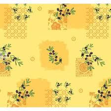 nappe toile ciree au metre toile ciréeolivette jaune au mètre