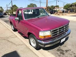 1992 Ford F-150 Flareside In Wild Magenta Is Poppin' - Ford-Trucks.com Pink Truck May Be A Ford But Damn Pinterest 1996 F150 Xlt Pickup Item 4642 Sold July 29 3 Ways To Play Walker Dreamworks Motsports Lifted Pink Purple My Truck And With Massive Lift Crazy Graphics Caridcom Gallery 1956 F100 Pickup In Nsw 1992 Flareside Wild Magenta Is Poppin Fordtruckscom