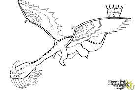 How To Draw A Scauldron Dragon From Train Your