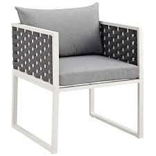 Stance Outdoor Patio Aluminum Dining Armchair (white Gray ... Amazoncom Nuevo Soho Alinum Ding Chair Chairs Mayakoba Outdoor In White Textilene Set Of 2 By Zuo Darlee Nassau Cast Patio Chairultimate Room Modway Eei3053whinav Stance Contemporary Ding Chair With Armrests Stackable Navy Metal Emeco Restaurant Coffee Blue Indoor Galvanized Galvanised 11 Piece America Luxury 11577 Modern Urban Design Myrtle Beach Shiny Copper Finished Hot Item Textile Glass Garden Sling Table Hotel Project Fniture