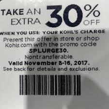 Starts Nov 8th -16th If Anyone Has... - Kohls 30 Off Coupon ... Kohls Coupon Codes This Month October 2019 Code New Digital Coupons Printable Online Black Friday Catalog Bath And Body Works Coupon Codes 20 Off Entire Purchase For Promo By Couponat Android Apk Kohl S In Store Laptop 133 15 Best Black Friday Deals Sales 2018 Kohlslistens Survey Wwwkohlslistenscom 10 Discount Off Memorial Day Weekend Couponing 101 Promo Maximum 50 Oct19 Current To Save Money
