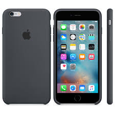 iPhone 6s Plus Silicone Case Charcoal Gray Apple