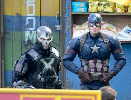 Frank Grillo And Chris Evans Are Set To Film A Major Action Sequence On The Of Captain America Civil War