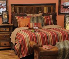 Bring In A Touch Of Rustic Appeal Into Any Bedroom By Combining Classic And Contemporary Style Bandera Luxury Bedding Adds Sense That You May