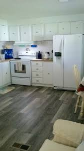 taupe brushed oak trafficmaster vinyl plank flooring