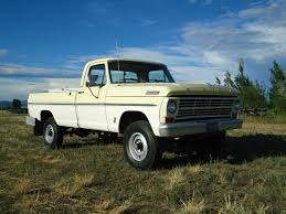 All American Classic Cars: 1967 Ford F-250 4-WD Pickup Truck