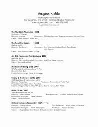 Resume Address Format Elegant Word For Reference Best Latest S Media Information Page Sample R