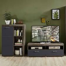 set wohnzimmer möbel für tv osvila 2 teilig