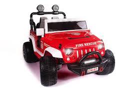 100 Fire Truck Ride On Mercedes SLS AMG 12V Kids Car With Remote Kidseyecandy