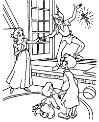 Peter Pan Coloring Pages Online