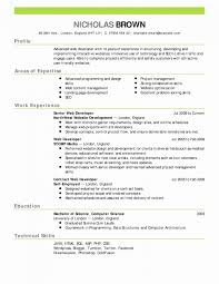 Two Column Resume Template 2 Contemporary Throughout 3