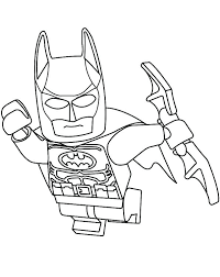 Batman Lego Coloring Pages Pdf Free Best For Kids
