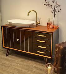sandvika retro waschtisch badmöbel landhaus land und