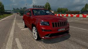 ETS 2 Mod] Jeep Grand Cherokee SRT8 | Euro Truck Simulator 2 (1.31 ... 2017 Ram 1500 Srt Hellcat Top Speed Grand Cherokee Srt8 Euro Truck Simulator 2 Mods Dodge Charger 2018 Chrysler 300 Srt8 Redesign And Price Concept Car 2019 Jeep Grand Cherokee V11 For 11 Modern Muscle Cars Trucks Under 20k Ram Srt10 Wikipedia Durango Takes On Ford F150 Raptor Challenger By The Numbers 19982012 59 Motor Trend Pin By Blind Man Cars Id Love To Have Pinterest