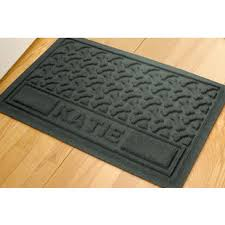 Personalized Bones Waterproof Dog Mat
