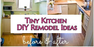 Adorable Small Kitchen Remodel Ideas Diy Before After Pictures Of Tiny