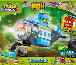 Submarine - Trash Pack Brix - For Kids {%wiek%} | Cobi Toys The Trash Pack Garbage Truck Fun Toy Kids Toys Home Wheels Playset Assortment Series 1 1500 Junk Amazoncouk Games Sewer Gross Gang In Your Moose Delivers The Three To Toysrus Trashies Cheap Jsproductcz A Review Of Trash Pack Garbage Truck Youtube Gross Sewer Clean Up Dirt Vacuum Germs Metallic Limited Edition Ebay The Trash Pack Garbage Truck Playset Xs Mnguasjad Toy Recycle