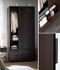 Brusali Wardrobe With 3 Doors by Wardrobes Sliding U0026 Fitted Wardrobes Ikea