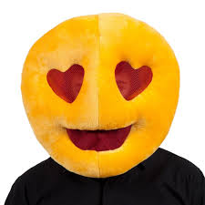 Rude Halloween Jokes For Adults by Plush Emoji Emoticon Mascot Full Head Smiley Fancy Dress