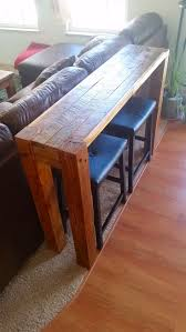 Narrow Sofa Table Behind Couch by Best 20 Bar Behind Couch Ideas On Pinterest Table Behind Couch