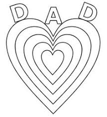 Fathers Day Printable Coloring Pages