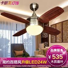 Buy Mini Fan Lights Ceiling Light Round The Living Room Dining Chandelier Minimalist In Cheap
