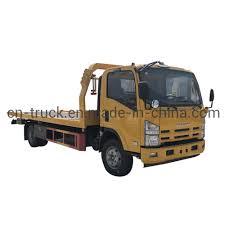 100 Flatbed Truck Bodies Hot Item Isuzu China 5ton 4ton Wrecker Tow Body