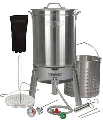 Amazon.com : Turkey Deep Fryer Oversized 44 Quart Stainless Steel ... Backyard Pro 30 Quart Deluxe Turkey Fryer Kit Steamer Food Best 25 Fryer Ideas On Pinterest Deep Fry Turkey Fry Amazoncom Bayou Classic 1195ss Stainless Steel 32 Accsories Outdoor Cookers The Home Depot Ninja Kitchen System 1500 Canning Supplies Replacement Parts Outstanding 24 Basic Fried Tips Qt Cooking 10 Pot Steel Fryers Qt