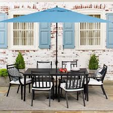 fairmont steel patio furniture dining collection threshold target
