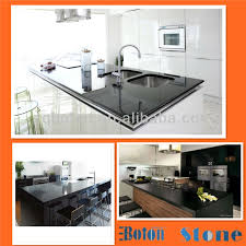 black mirror quartz black composite quartz floor