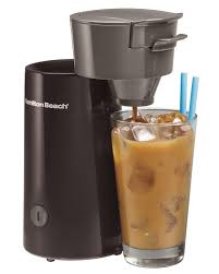Amazon Hamilton Beach Iced Coffee Tea Maker 40917 Electric Ice Machines Kitchen Dining