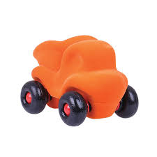 Cleanupper The Little Dump Truck (Orange) | Vehicles | Bigjigs Toys