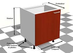 caisson cuisine sur mesure les principales dimensions de meubles meubles d angle pour cuisines