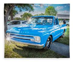 1967 Chevy Silverado Pick Up Truck Painted Fleece Blanket 1967 Chevy C10 Step Side Short Bed Pick Up Truck Pickup Truck Taken At The Retro Speed Shops 4t Flickr Harry W Lmc Life K20 4x4 Ousci Competitor Chris Smiths Custom Cab Rebuilt A 67 With 405hp Zz6 To Celebrate 100 Years Of Chevrolet Pressroom United States Images 6500 Shop Stepside Torq Thrust Iis Over The Top Customs Racing