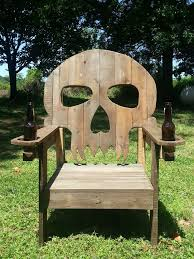 pallet skull chair pallet wood pallets and norman