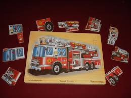 Melissa & Doug Fire Truck Sound Puzzle (9 Pieces) Firetruck Siren ... Sound Puzzles Melissa Doug 3d Stacking Emergency Vehicles Refighter Truck Melissa And Doug Kids Play Pretend Toys Dillards Around The Fire Station Puzzle R Us Canada Solar System Space Radar Find More And Firetruck Makes Noise For Sale Doug Wooden Fire Games Compare Prices The At John Lewis Partners Disney Baby Mickey Mouse Friends Wooden Truck 100 Pieces Ktpuzz9 Colorful Fish Peg Personalized Miles Kimball Memtes Electric Toy With Lights Sirens Sounds