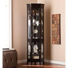 corner display cabinet ebay
