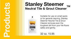 stanley steemer neutral tile grout cleanertm stanley steemer