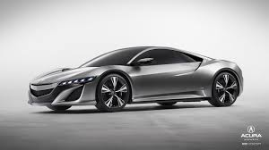 Impressive in game Acura NSX Concept