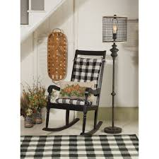 Pastoral Buffalo Check Rocking Chair Cushion Set - Latex Foam Fill ... Rocking Chair Cushion Sets Serendipitaliainfo Cushion More Enjoyable With Replacement Cushions For Glider Rockers Update A Nursery Rocking Chair The Diy Mommy Get Unique Exceptional Comfort Make Ideal Choice Dutailier Walmartca Pink Fniture Add And Style To Your Favorite Gripper Jumbo Nouveau Walmartcom Fnitur Mode Ro White Barrel Sets Comfy Rocker Home Ideas Cheap Find Replacement Glider Cushions For Nursery Dutailier Target Ott