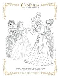 Coloring Page Wicked Stepmother Disney Princess Cinderella Pages Games Colouring Pictures Free Medium Size
